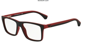Emporio Armani EA3034 Black/Red Rubber