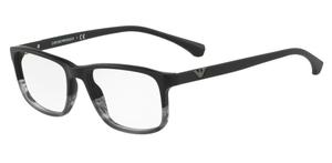 Emporio Armani EA3098 Black/Tr Striped Grey