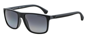 Emporio Armani EA4033 Black/Grey Rubber