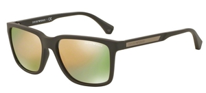 Emporio Armani EA4047 Grey/Brown Rubber