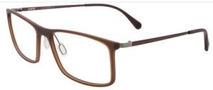 Aspex B6019 Dark Brown w/ Gradient Brown Lenses