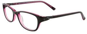 Aspex EC300 90. Black / Clear Light Pink Inside