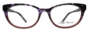 Anglo American Eliska Purple Tortoise Fade to Brown