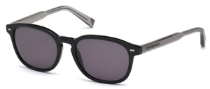 Ermenegildo Zegna EZ0005 Black with Smoke Lenses