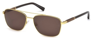 Ermenegildo Zegna EZ0014 Shiny Endura Gold with Roviex