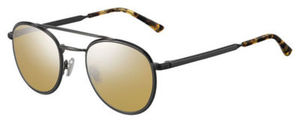 Jimmy Choo Dave/S Black Dark Ruthenium