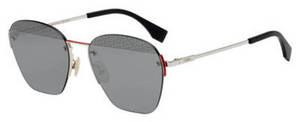 Fendi Men Ff M 0057/S Palladium