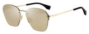 Fendi Men Ff M 0057/S Gold
