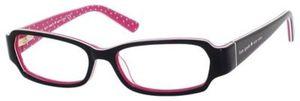 Kate Spade Gene Black Pink Striated