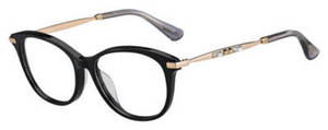 Jimmy Choo Jc 186/F Black Gold Cop