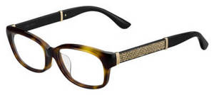 Jimmy Choo Jc 187/F Havana Glitter Black