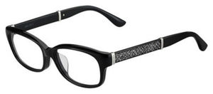 Jimmy Choo Jc 187/F Black Glitter Black