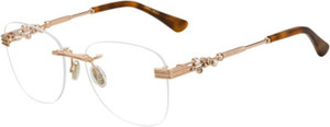 Jimmy Choo Jc 214 Gold Havana
