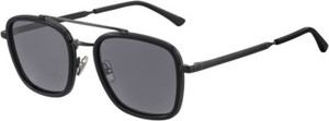 Jimmy Choo John/S Black Dark Ruthenium