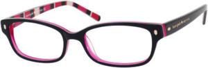 Kate Spade Lucyann Us Black Pink Striped