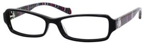 Marc by Marc Jacobs MMJ 506 Black Striped Fuchsia