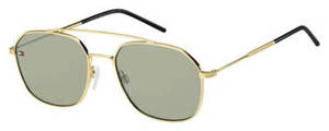 Tommy Hilfiger Th 1599/S Gold Green