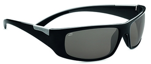 Serengeti Sport Classics Fasano Shiny Black Gray with Polar PhD CPG Lenses