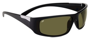 Serengeti Sport Classics Fasano Shiny Satin Black with Polar PhD 555nm Lenses