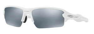 Oakley FLAK 2.0 (Asian Fit) OO9271 16 Polished White with Slate Iridium Lenses
