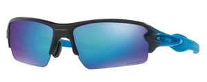 Oakley FLAK 2.0 (Asian Fit) OO9271 19 Sapphire Fade with Prizm Sapphire Polarized Lenses