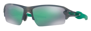 Oakley FLAK 2.0 (Asian Fit) OO9271 23 Grey Smoke with Prizm Jade Lenses