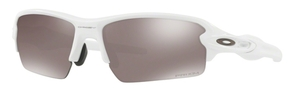 Oakley FLAK 2.0 (Asian Fit) OO9271 24 Polished White with Prizm Black Polarized Lenses