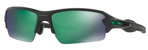 Oakley FLAK 2.0 (Asian Fit) OO9271 25 Matte Black with Prizm Jade Polarized Lenses