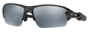 Oakley FLAK 2.0 (Asian Fit) OO9271 06 Carbon Fiber with Slate Iridium Lenses