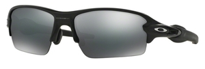 Oakley FLAK 2.0 (Asian Fit) OO9271 01 Matte Black with Black Iridium Lenses
