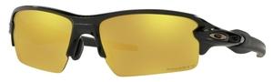 Oakley FLAK 2.0 (Asian Fit) OO9271 Polished Black / prizm 24k polarized