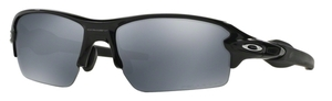 Oakley FLAK 2.0 (Asian Fit) OO9271 07 Polished Black with Polarized Black Iridium Lenses