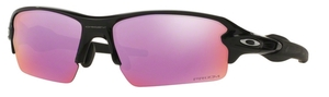 Oakley FLAK 2.0 (Asian Fit) OO9271 09 Polished Black with Prizm Golf Lenses