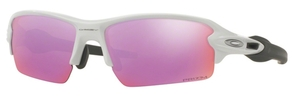 Oakley FLAK 2.0 (Asian Fit) OO9271 10 Polished White with Prizm Golf Lenses
