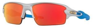 Oakley FLAK 2.0 (Asian Fit) OO9271 Silver / prizm ruby