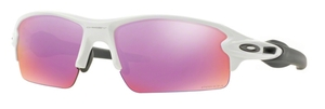 Oakley Flak 2.0 OO9295 06 Polished White with Prizm Golf Lenses