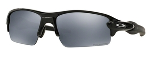 Oakley Flak 2.0 OO9295 07 Polished Black with Polarized Black Iridium Lenses