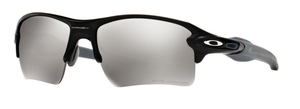 Oakley Flak 2.0 XL OO9188 12 Matte Black w/ Chrome Iridium Polarized