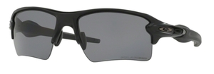 Oakley Flak 2.0 XL OO9188 14 Matte Black with Grey Polar
