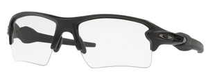 Oakley Flak 2.0 XL OO9188 37 Matte Black with Clear