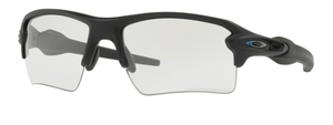Oakley Flak 2.0 XL OO9188 46 Blue Black with Clear/Grey Photochromic