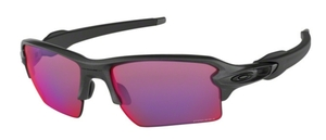 Oakley Flak 2.0 XL OO9188 49 Steel with Prizm Road