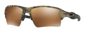 Oakley Flak 2.0 XL OO9188 67 Desolve Bare Camo with Prizm Tungsten Polarized