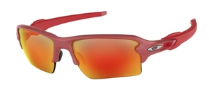 Oakley Flak 2.0 XL OO9188 74 IR Red with Prizm Ruby