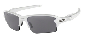 Oakley Flak 2.0 XL OO9188 76 Polished White with Prizm Black Polarized