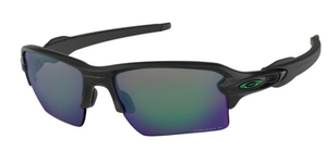 Oakley Flak 2.0 XL OO9188 77 Matte Black with Prizm Jade Polarized