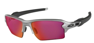 Oakley Flak 2.0 XL OO9188 83 Silver with Prizm Field