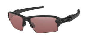 Oakley Flak 2.0 XL OO9188 90 Matte Black with Prizm Dark Golf