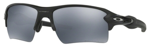 Oakley Flak 2.0 XL OO9188 53 Matte Black with Polarized Black Iridium Lenses