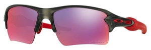 Oakley Flak 2.0 XL OO9188 04 Matte Grey Smoke with Prizm Road Lenses